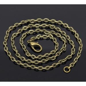 Mooie bronskleurige ketting