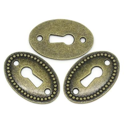 Bedel brons, connector, sleutelgat