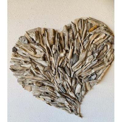 DIY kit driftwood hart