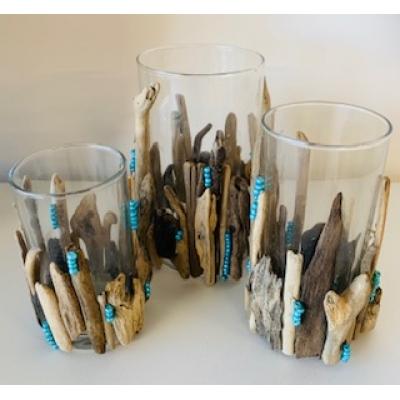 DIY kit driftwood sfeerlichtjes