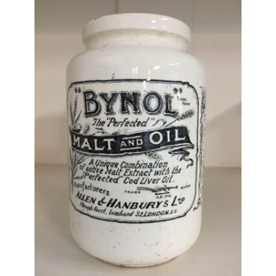 Bynol malt and oil potje