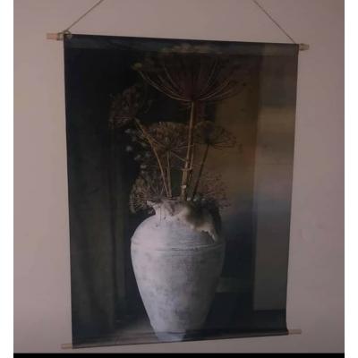 Velvetdoek 63 cm x 80 cm  Bereklauw in pot