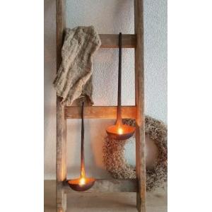 Hanglepel voor een waxine lampje