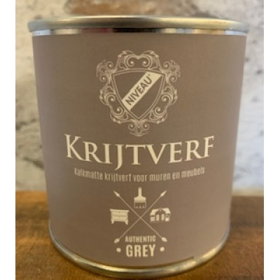 Niveau krijtverf authentic grey 250ml