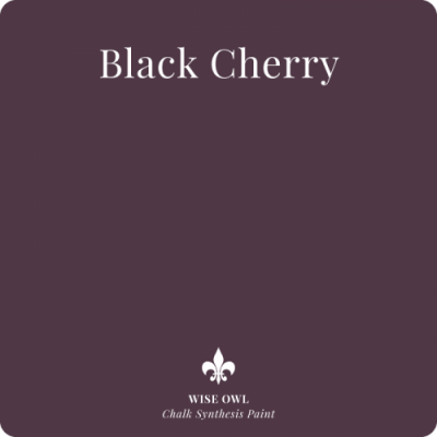 Wise owl  verf, kleur BLACK CHERRY