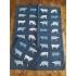 Theedoek blauwe koe