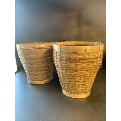 manggis opbergmandje  15 cm hoog doorsnee opening 14 cm