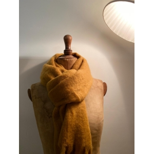 wintersjaal camel