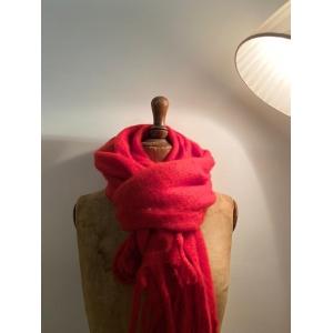 wintersjaal rood