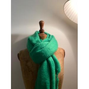 wintersjaal groen