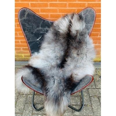 Scandinavische schapenvacht grijs maat xl