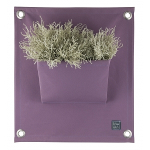 Green pockets, 100% acryl plantenzakken, lavendel