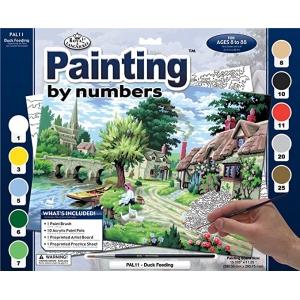 27,5x35cm Schilderen op nummer (large) 27,5x35cm incl. penseel en verf