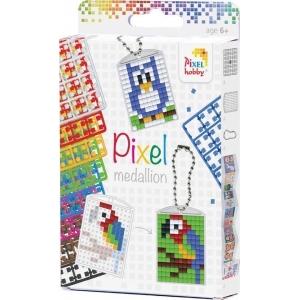 Sleutelhanger set - 3 sleutelhangers - Pixel Hobby