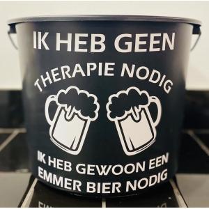 cadeau emmer  Geen Therapie Nodig Bier