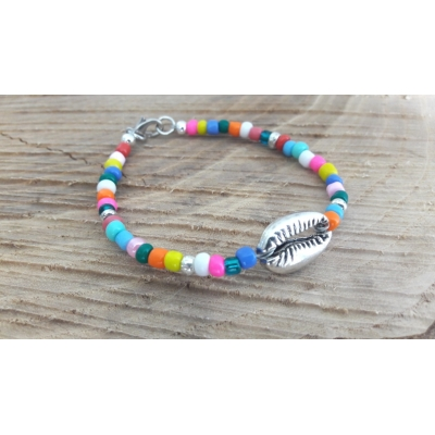 Armband Colourbomb zilver
