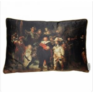 Kussen – Rembrandt – De Nachtwacht – Velvet