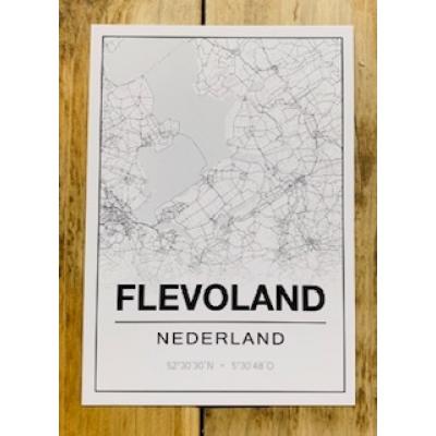 Flevoland wit a6