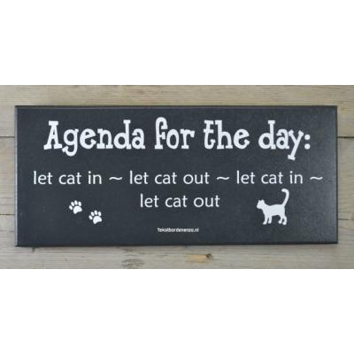 Tekstbord Cat
