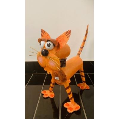 Eddy, de kat, ornament