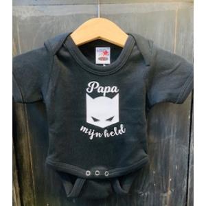 Baby rompertje zwart, held  mt 56