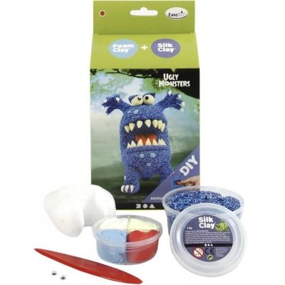 DIY kit blauwe ugly monster
