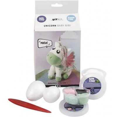 DIY kit Unicorn baby bibi