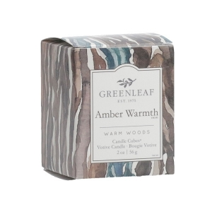 Greenleaf Amber Warmth Candle Cubes