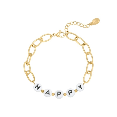 Armband Happy Stainless Steel