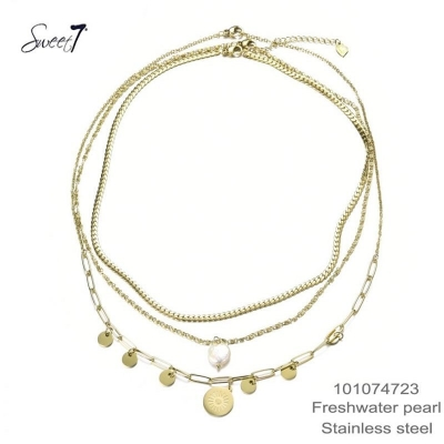 Zoetwater parel ketting