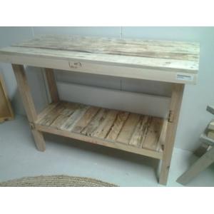 Sidetable van pallethout
