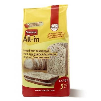 All-in Brood Met Sesamzaad
