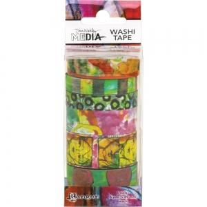 Dina Wakley media washi tape set #4