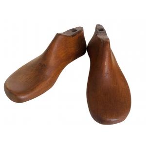 oude schoenmallen set van twee