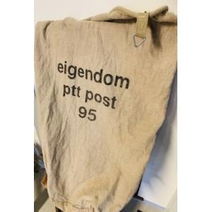 oude postzak PTT 95 +/- 57 bij 90 cm