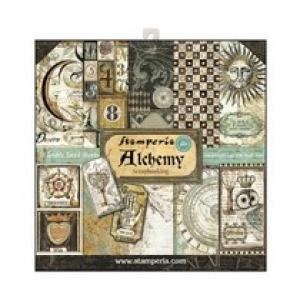 Stamperia 12x 12 inch paperpad Alchemy