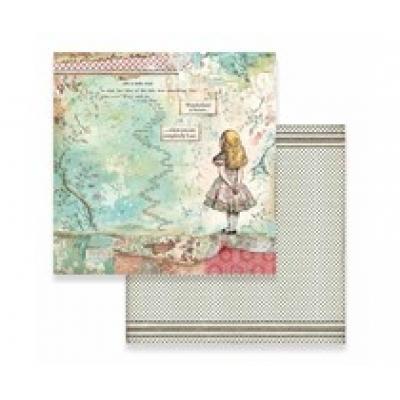 Stamperia losse vellen Alice