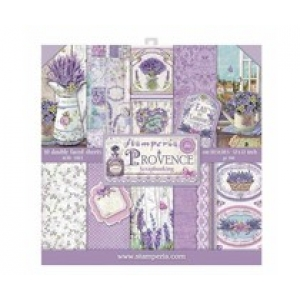 Stamperia 12x 12 inch paperpad Provence