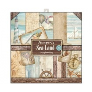 Stamperia 12x 12 inch paperpad Sealand